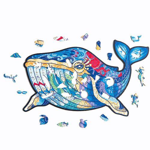 Деревянный пазл<br>Puzzlewood Гавайский кит