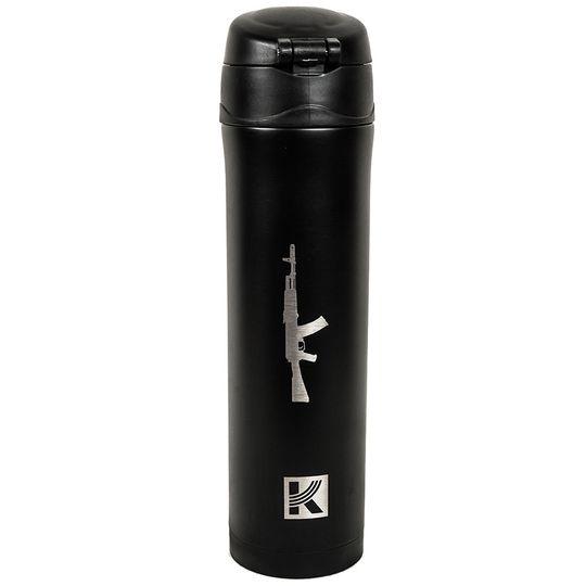 Термокружка АК-47 Калашников (Черный)