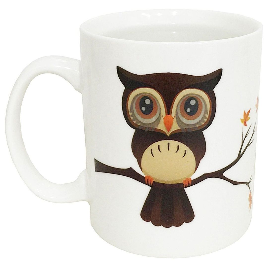 Термокружка Сова Owl Magic Mug
