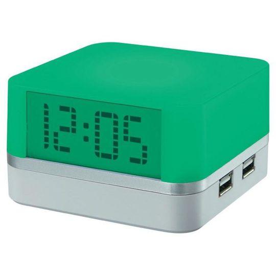 Часы с подсветкой и USB-хабом