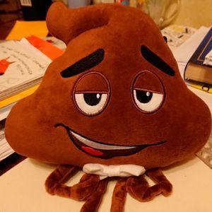 Мягкая игрушка Emoji Poop Мистер Какашка