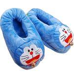 Тапочки с подогревом от USB Кот Doraemon
