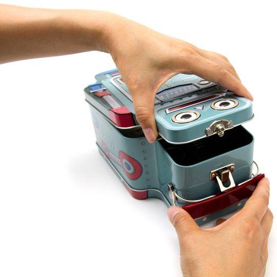 Ланч-бокс Робот Robot Крепление крышки
