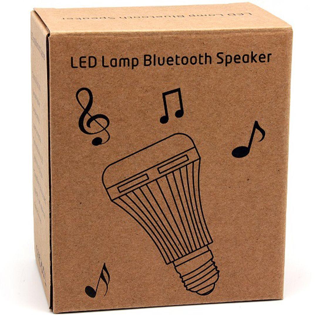 Лампочка с bluetooth-динамиком и пультом