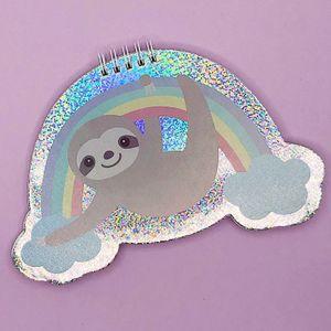 Блокнот Ленивец Sloth on the rainbow