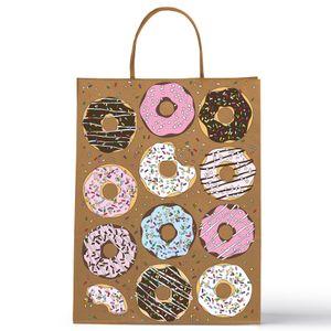 Подарочный пакет Пончики большой
