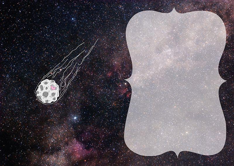 Открытка Ты моя Вселенная купить в магазине Мистер Гик