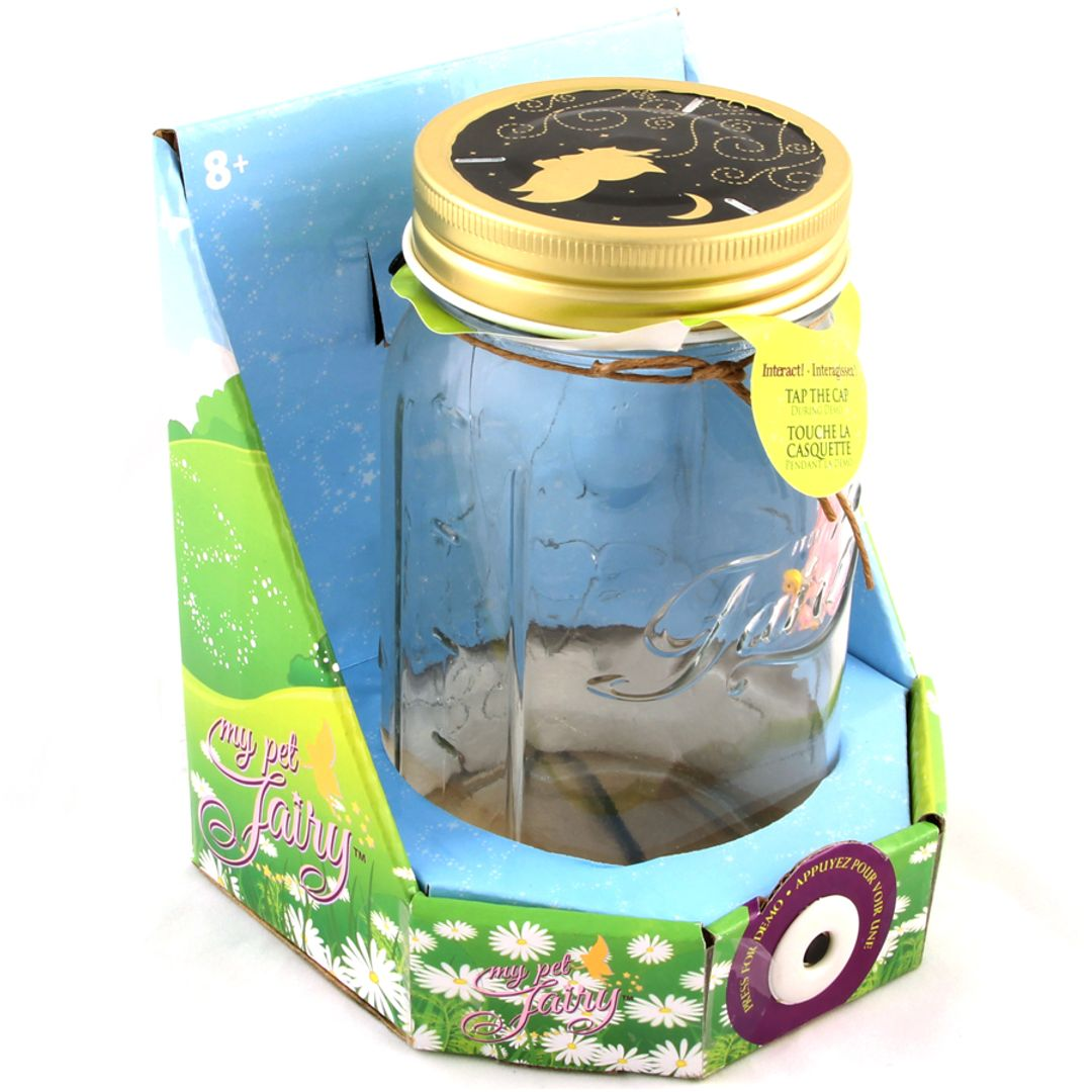 Бабочка в банке My pet Fairy Упаковка