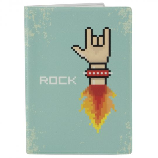 Обложка для паспорта Rock