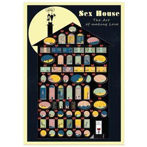 Скретч-постер Камасутра Sex House