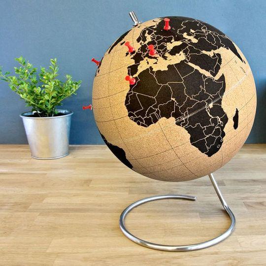 Пробковый глобус Cork Globe