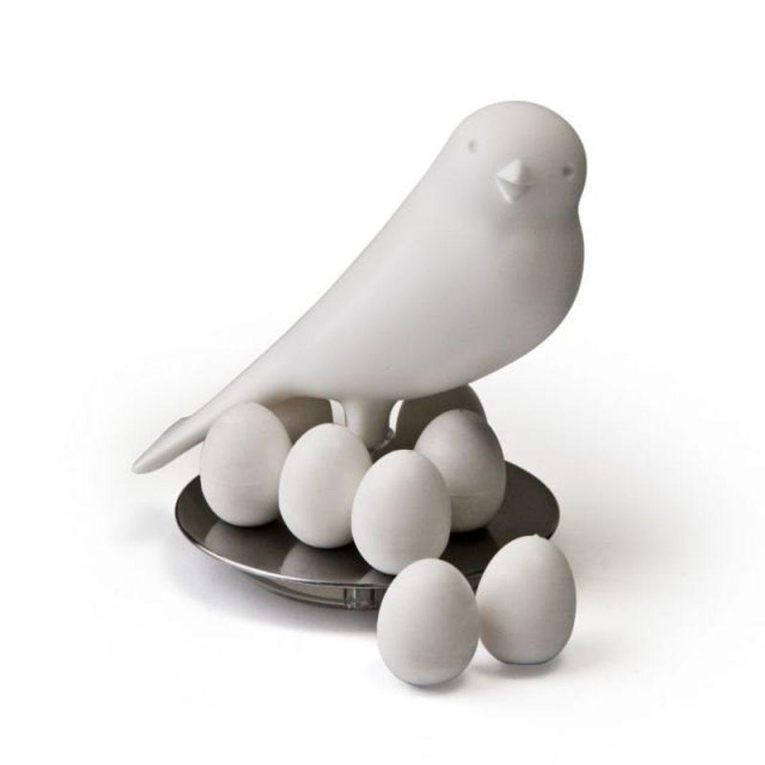 Гнездо Птичка и яйца-магниты