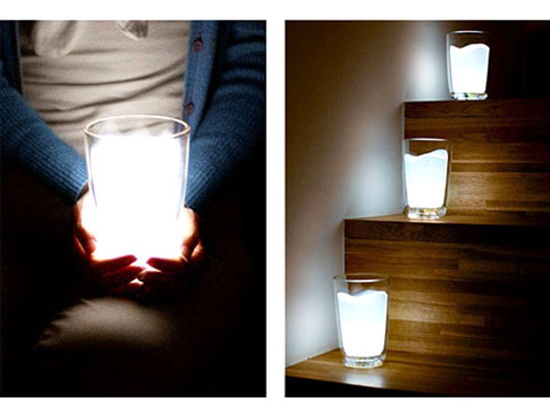 Лампа Стакан молока Использование