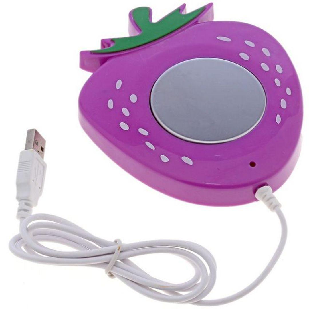 USB Нагреватель для чашки Клубничка