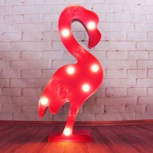 Светильник Розовый Фламинго