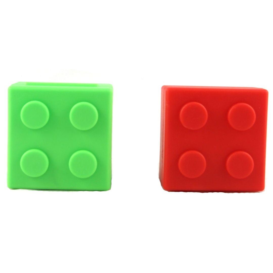 Таблетница Лего (Зеленая и красная)