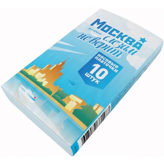Бумажные платочки Москва слезам не верит