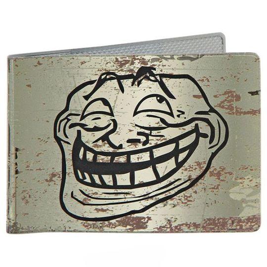 Обложка для студенческого билета Trollface