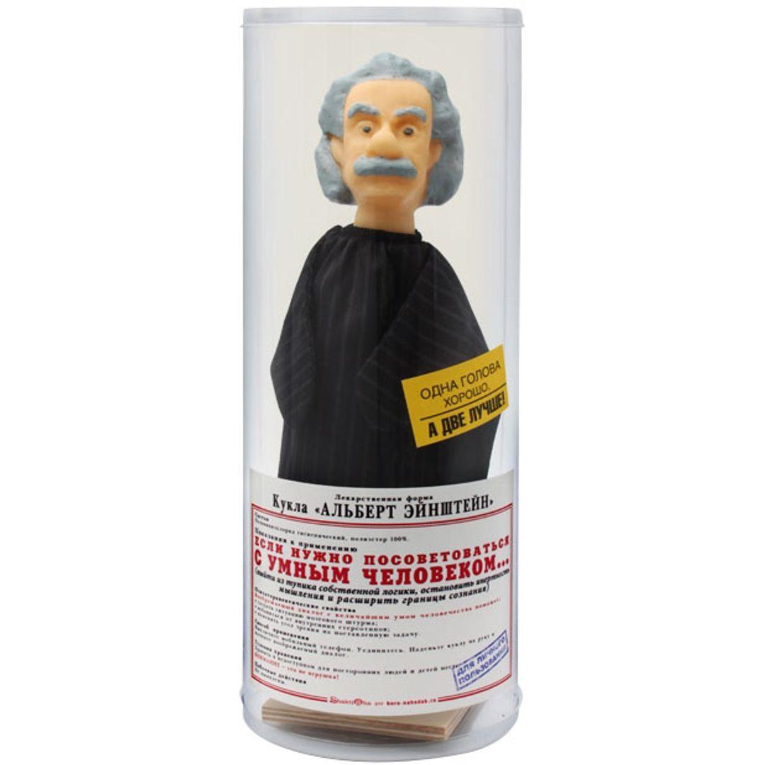 Кукла Альберт Эйнштейн