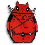 Часы настенные Тоторо & Deadpool