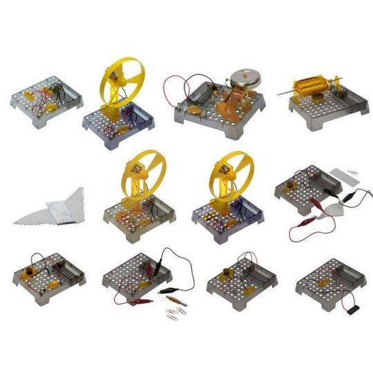 Познавательный набор Юный электрик (12 в 1)