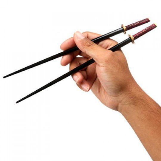 Самурайский палочки Катаны