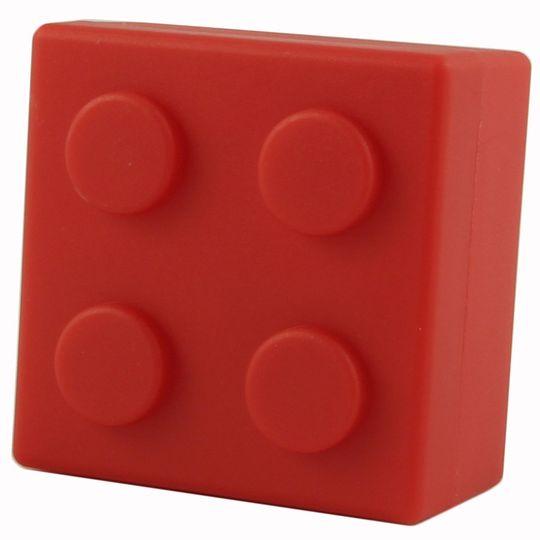 Таблетница Лего (Красная)