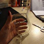 Винный бокал с трубочкой Вампир Отзыв