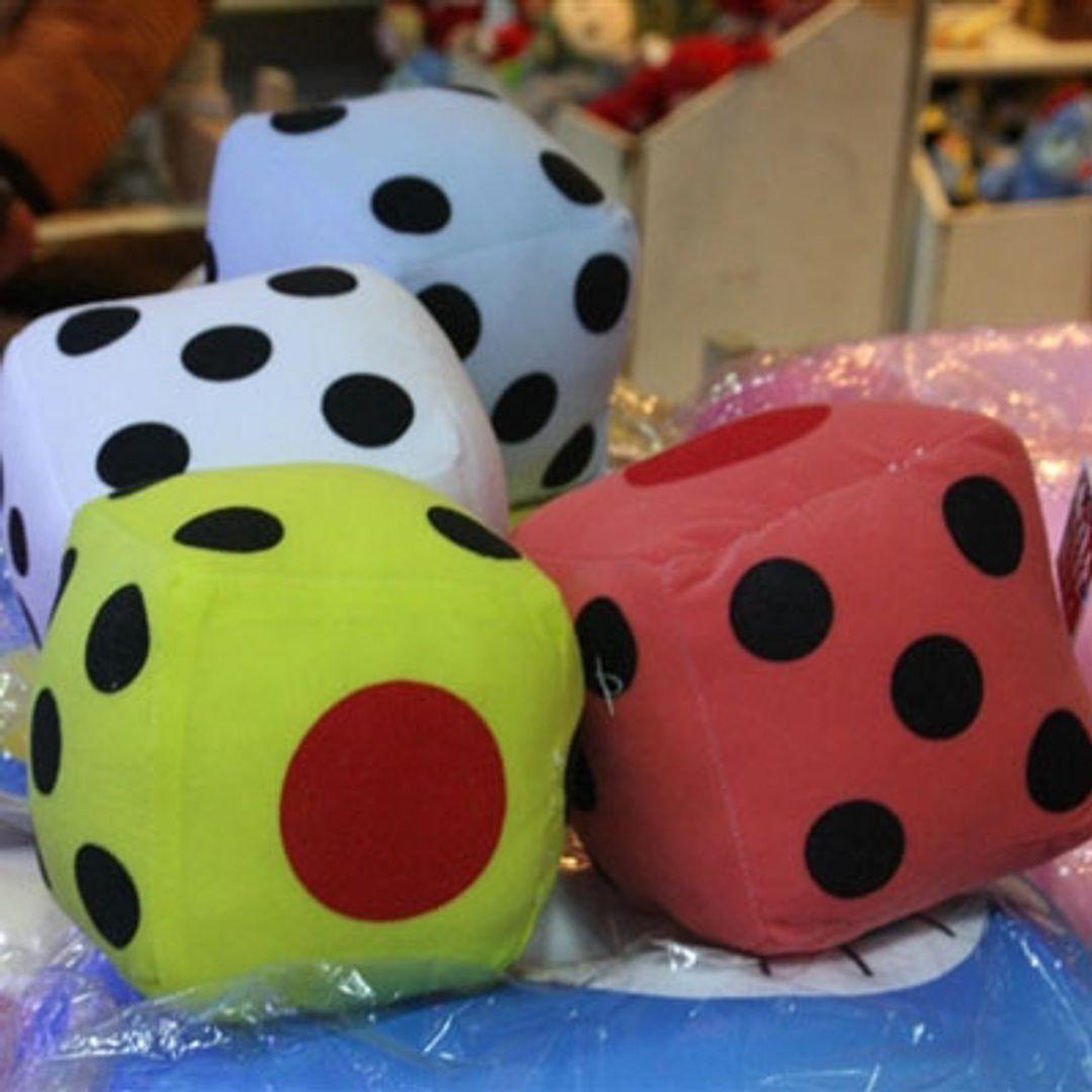 Мягкая игрушка Игральный кубик