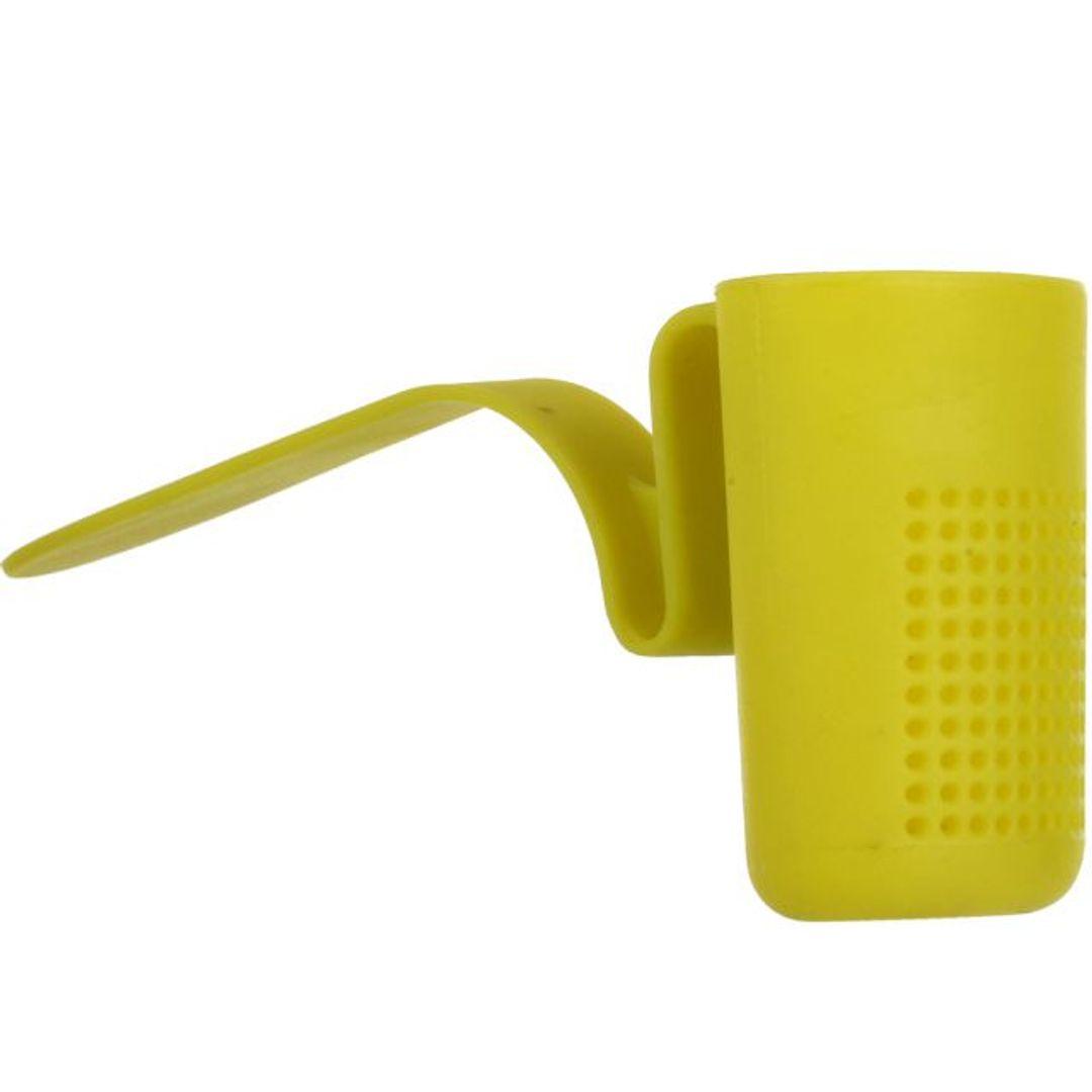 Заварник для чая на кружку Tea Strainer (Салатовый) Вид сбоку