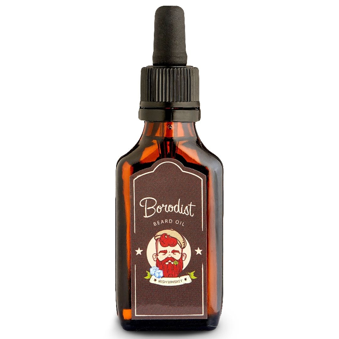 Масло для бороды Borodist Beard Oil Irish Whiskey (30 мл)