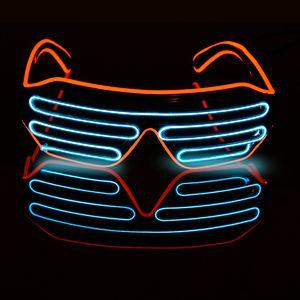 Светящиеся очки Жалюзи