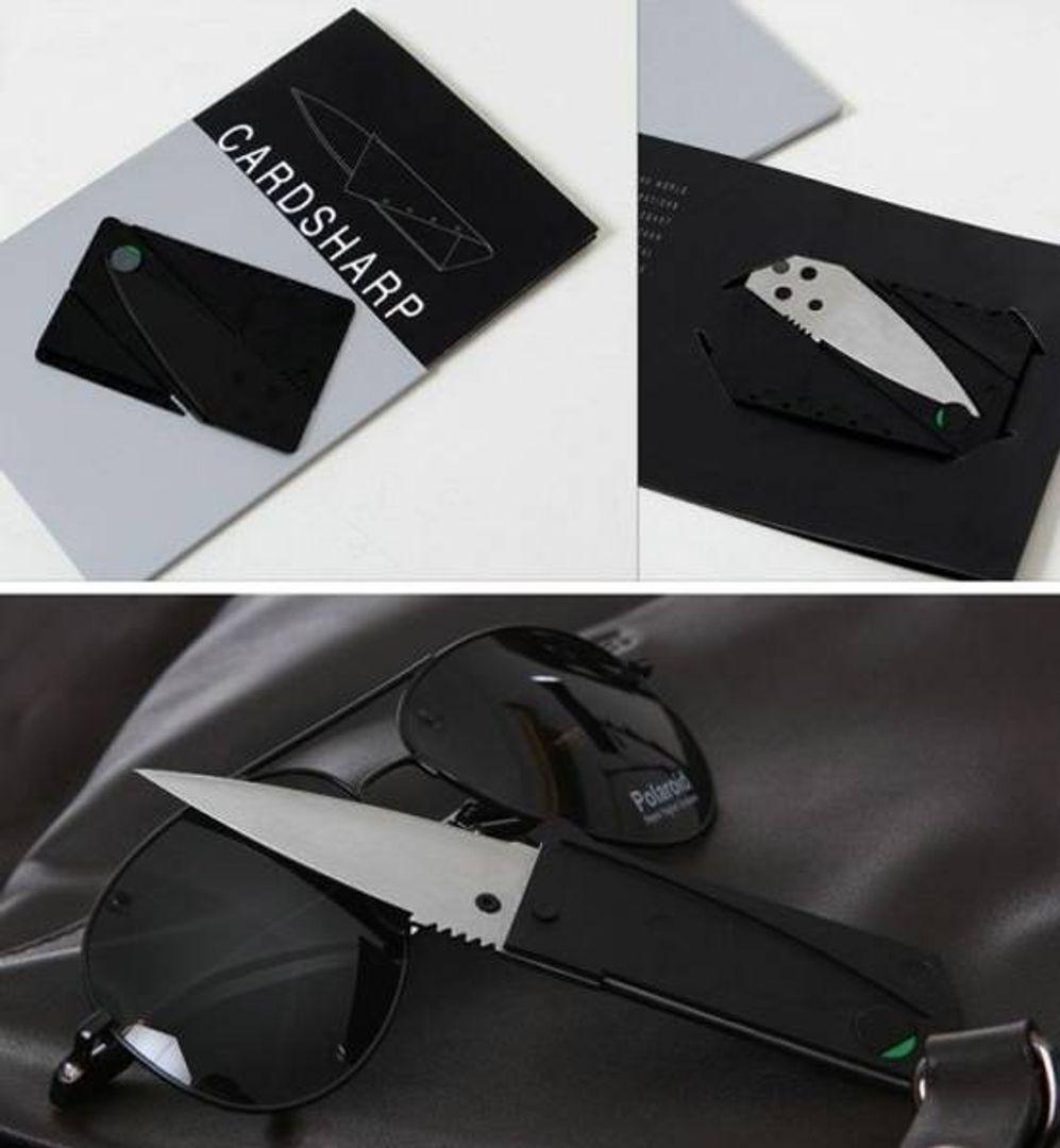 Нож Кредитка CardSharp Упаковка, детали