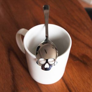 Ложка для сахара Череп Skull