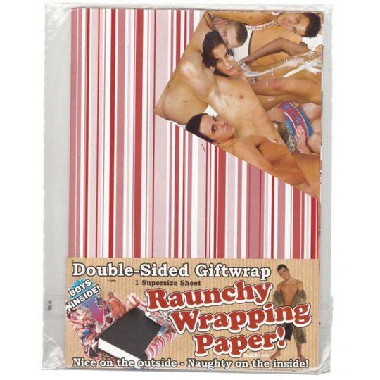 Подарочная бумага с голыми мальчиками