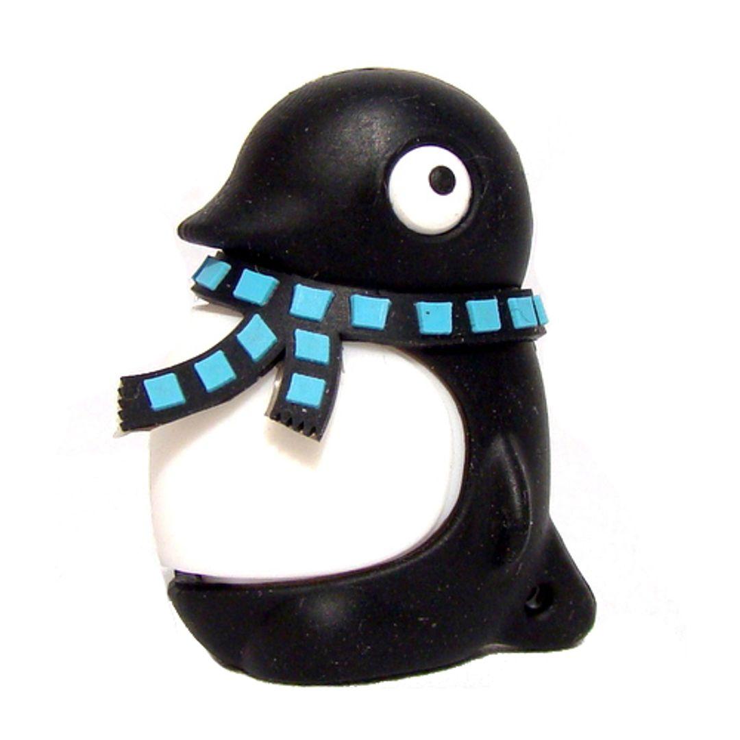 Флешка Пингвин Черный 4 Гб