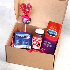 Подарочный набор Для тех, кто любит сладенькое
