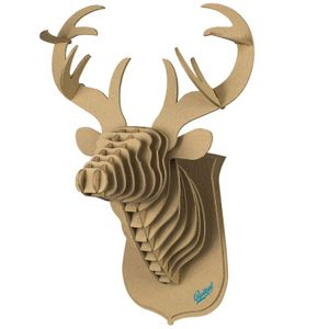 3D Конструктор Голова благородного оленя
