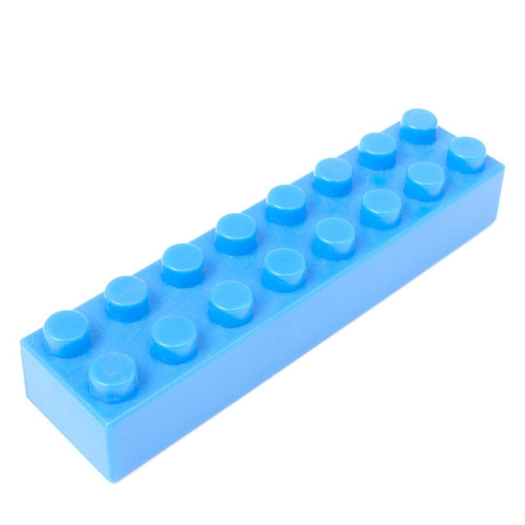 USB Хаб Лего (Голубой)