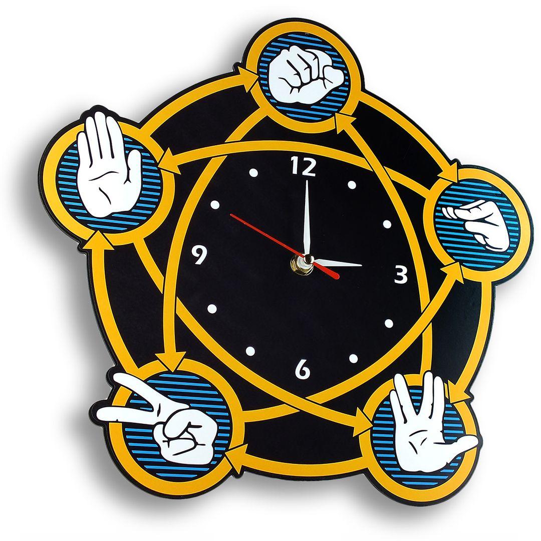 Часы настенные Теория большого взрыва