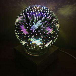 USB Ночник Магический шар Стрекозы