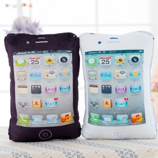 Подушка iPhone (Черный)