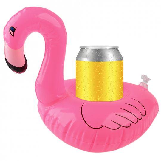 Надувной подстаканник Фламинго