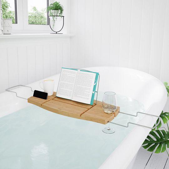 Столик для ванной Umbra Aquala (Дерево, New)