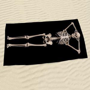 Полотенце Скелет