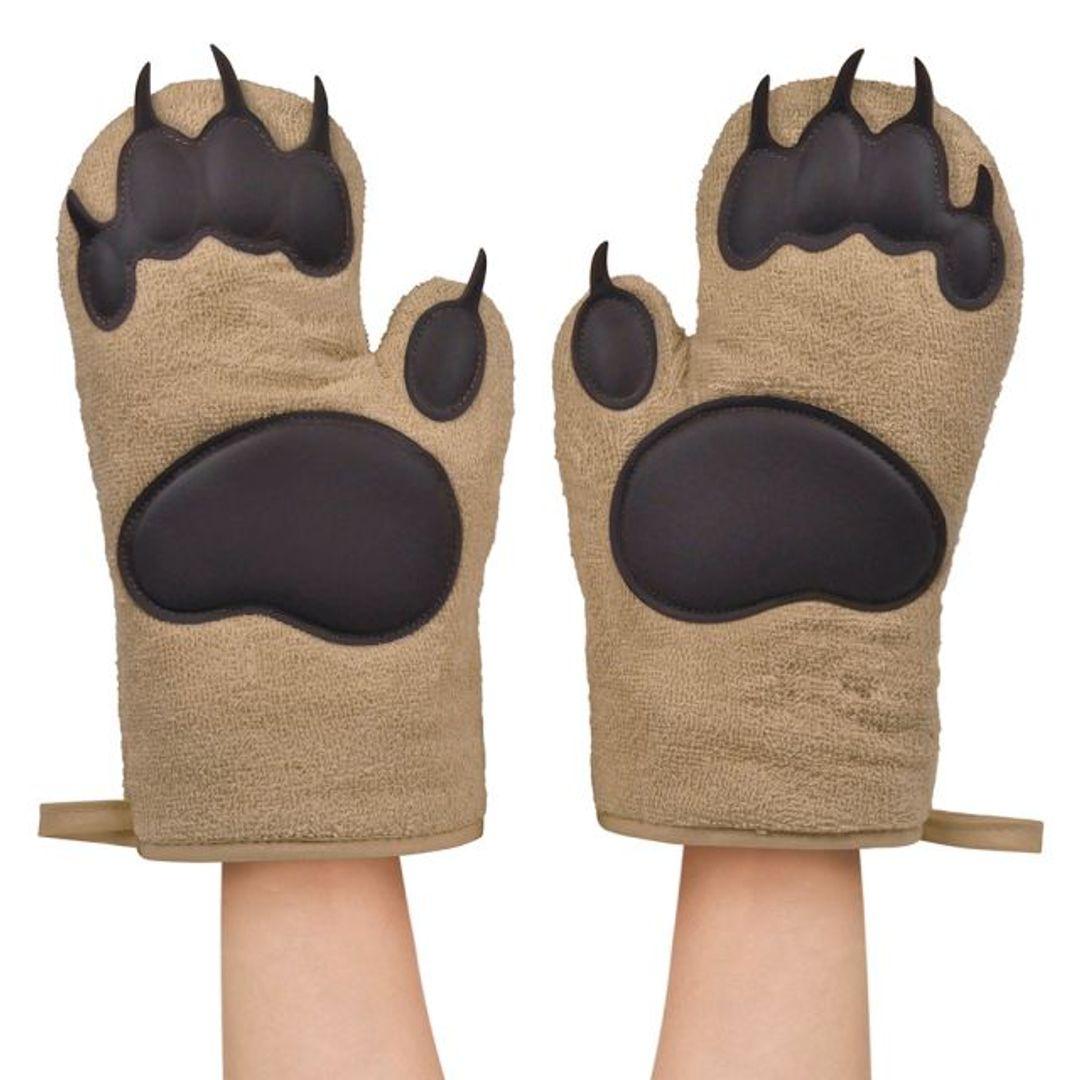 Прихватки для горячего Лапы Bear hands (2 шт.)