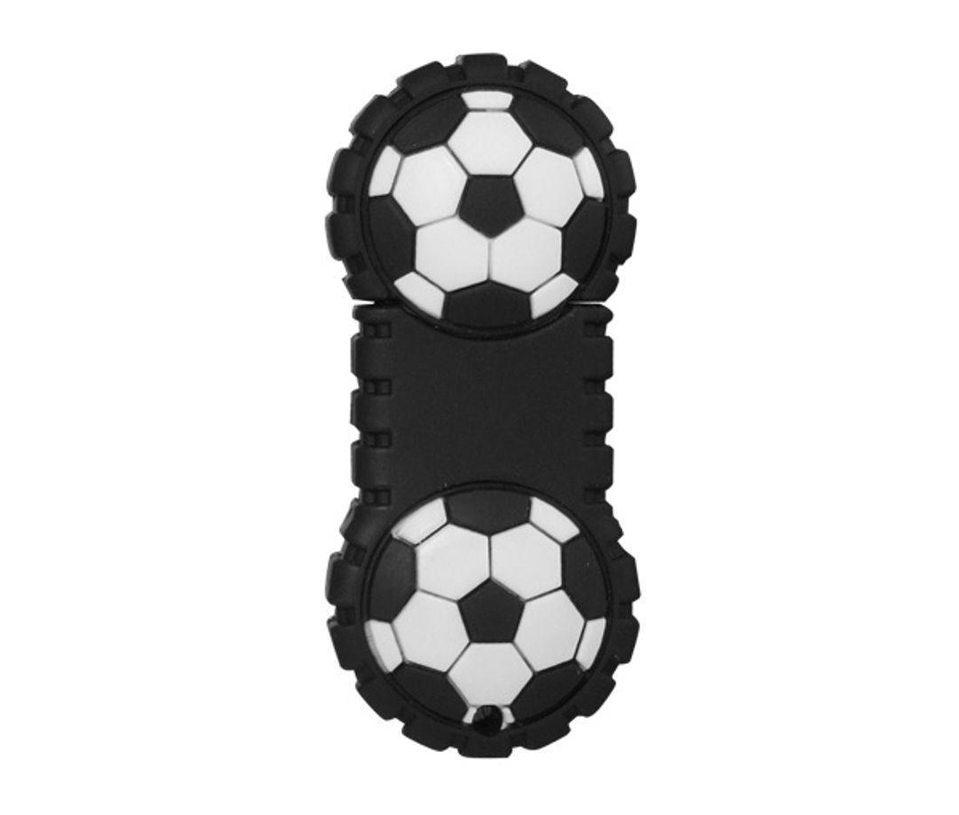 Флешка Футбольный мяч пополам 8 Гб