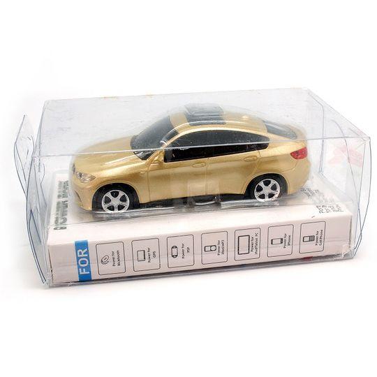 Внешний аккумулятор Power Bank BMW (Золотистый) Упаковка