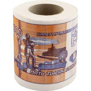 Туалетная бумага Купюра 5000 рублей