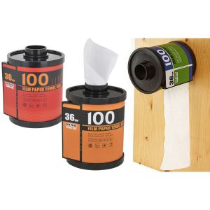 Держатель туалетной бумаги и салфеток Фотопленка